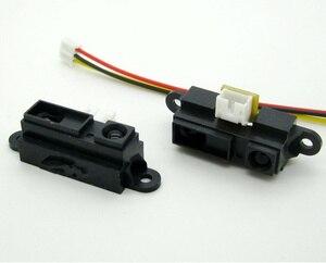 20 шт./лот оригинальный GP2Y0A21YK0F инфракрасный датчик измерения расстояния 10-80 см с кабелем аналоговый выходной Тип инфракрасный датчик диапаз...