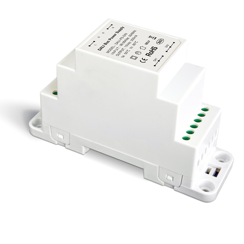 LTECH DALI Bus Power supply DALI-PS-DIN High Voltage 100-240VAC 50/60Hz input 200mA Output Din Rail Dali Bus Power