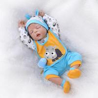 22 cali Reborn Baby Zabawki Chłopiec Filmy Miękkie Silikonowe Lalki Reborn Babies Sztuczne Wzrostu Partnerów Na Przyjęcie