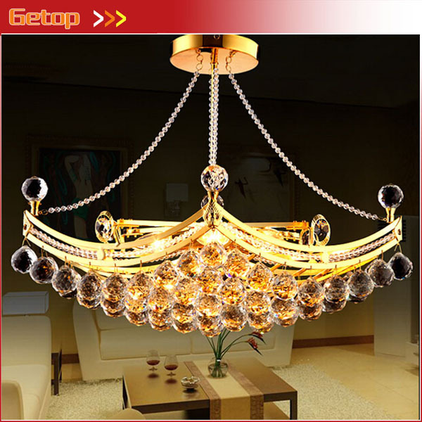 Hanging Lamp Price: Best Price Luxury Crystal Chandeliers Pendant Lamp Gold