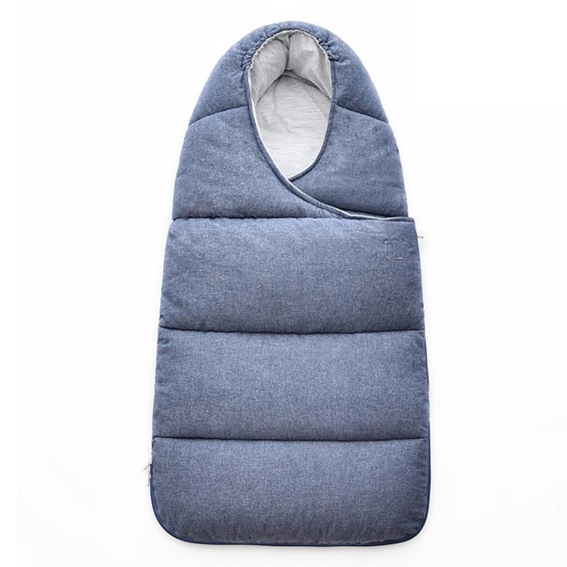 Bébé Sac de Couchage Pour Poussette Couverture Nouveau-Né Sleepsacks Courtepointes Hiver Infantile sac de Couchage Chaud Mousseline de Coton Bébé Sommeil Nid