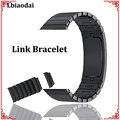 Link Armband für apple watch band Strap 42mm 38mm iwatch 4 band 44mm 40mm Edelstahl armband armband für apple watch 4