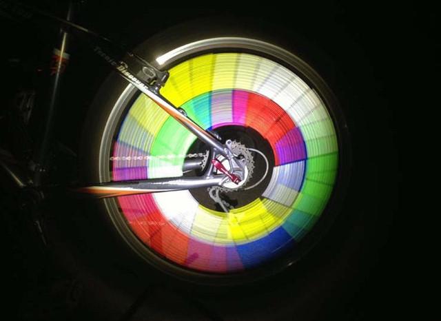 Bicycle Cycling Spoke Wheel Reflective Safety Stocking Flash Filler 12 PCS