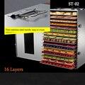 Comercial máquina de frutas secas frutas y hortalizas deshidratación secado de alimentos para mascotas secador hogar ST-02