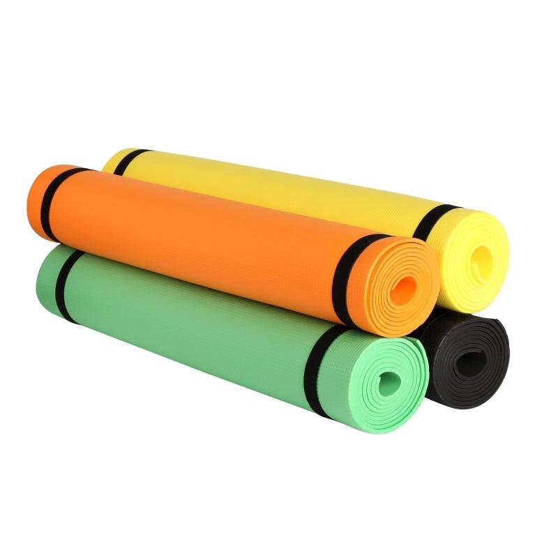 Neueste! 4MM EVA Yoga Matten Anti-slip Decke EVA Gymnastik Sport Gesundheit Gewicht Verlieren Fitness Übung Pad Frauen Sport yoga Matte