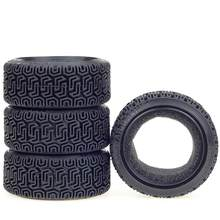 4 stks/set Rubber Tyre Wheel Band voor 1/10 RC On Road Car HSP Tamiya HPI Kyosho RC Auto(China)