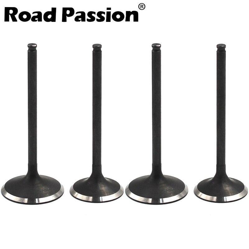 Дорога страсть двигателя мотоцикла Запчасти клапан набор штоков для Honda crf450x 2005 2014 CRF450R 2002 2008 TRX450R 2006 2014