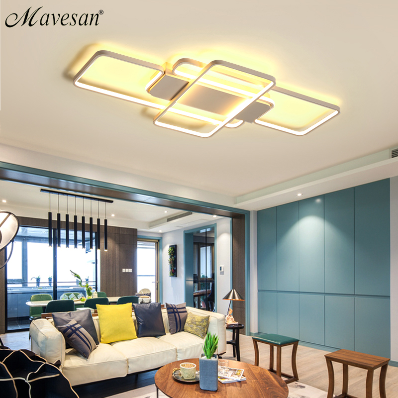 Moderne Led-deckenleuchten wohnzimmer schlafzimmer Ac85-265V leuchte ...