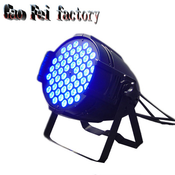 LED American DJ LED SlimPar 54x3W RGB 3IN1 Wash Stage Light Illuminazione D'effetto Verticale Nessun Rumore