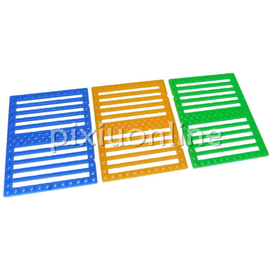 5pcs/bag K1009 75*60mm Rectangle Plastic Multi-hole DIY Making Board Free Russia Shipping Drop Shipping
