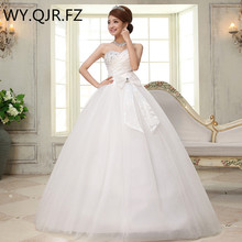 LYGH24#Bride wedding 2017 spring summer new Korean wedding diamond wedding dress big butterfly bra straps wholesale dress cheap