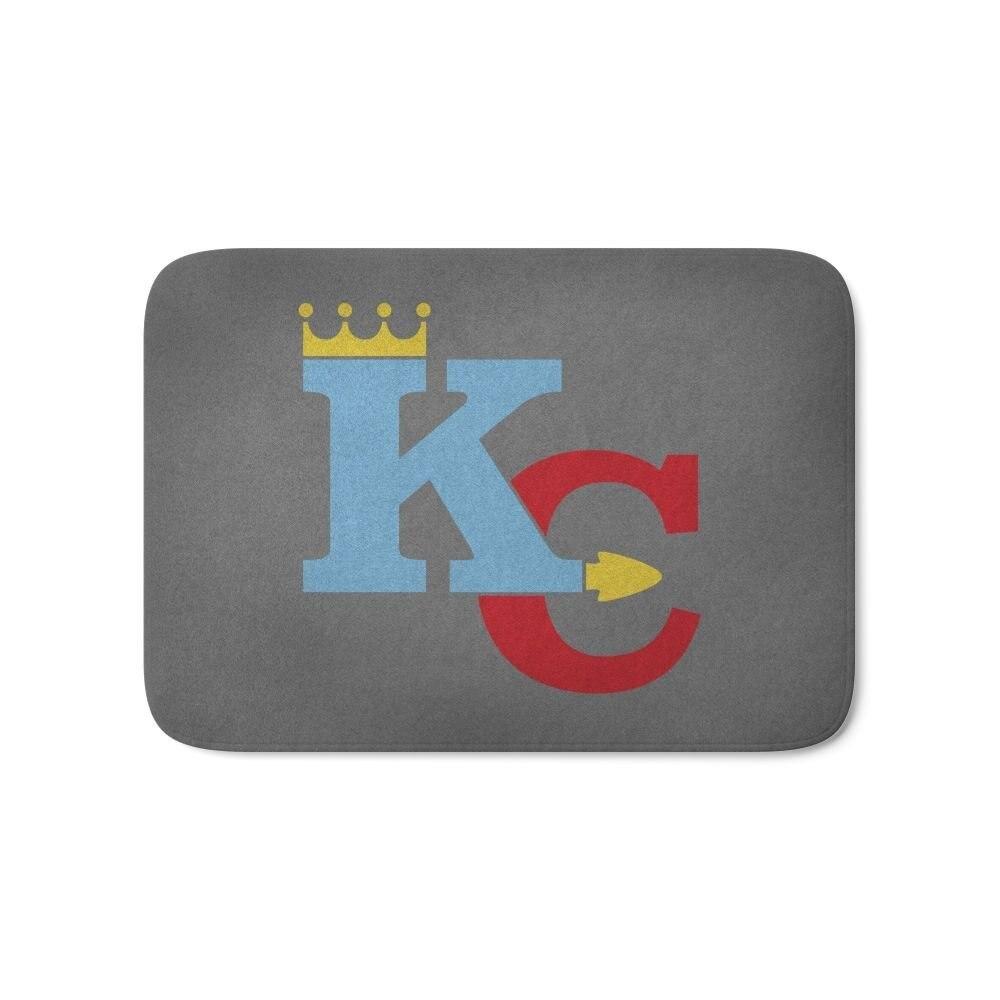 New Kansas City Sports Red & Blue Bathroom Kitchen Doormat Entrance Indoor Non-slip Printed Floor Mat Carpet Living Room Rug