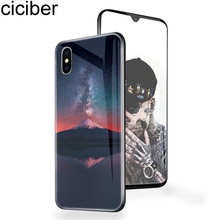 ciciber Marvel Skull Phone Case For iphone 11 Pro Max 2019 XR XS Max X Tempered Glass Cover Cases for Iphone 7 8 6 6S Plus Funda ciciber dragon ball phone case for iphone 11 pro max xr x xs max tempered glass cover cases for iphone 7 8 6 6s plus funda coque