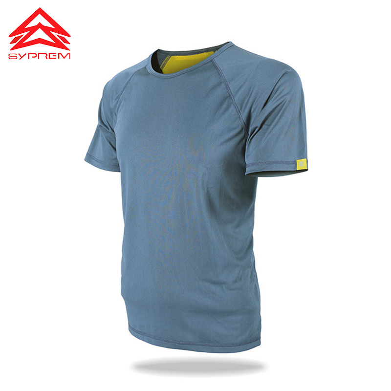 JOZSI Men Summer 2017 O Neck Solid Quick Dry T Shirt Men Outdoor Hiking Sports T-Shirt ,TWB002