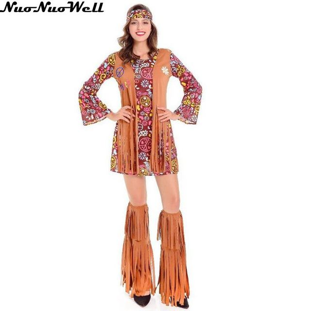 Aboriginal Clothing Woman Indian Style dress Halloween