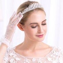 Miallo Wedding Rhinestone Tiaras For Women Bridal Crown Hair Jewelry Romantic Hairwear Accessories Prom Beauty Pageant