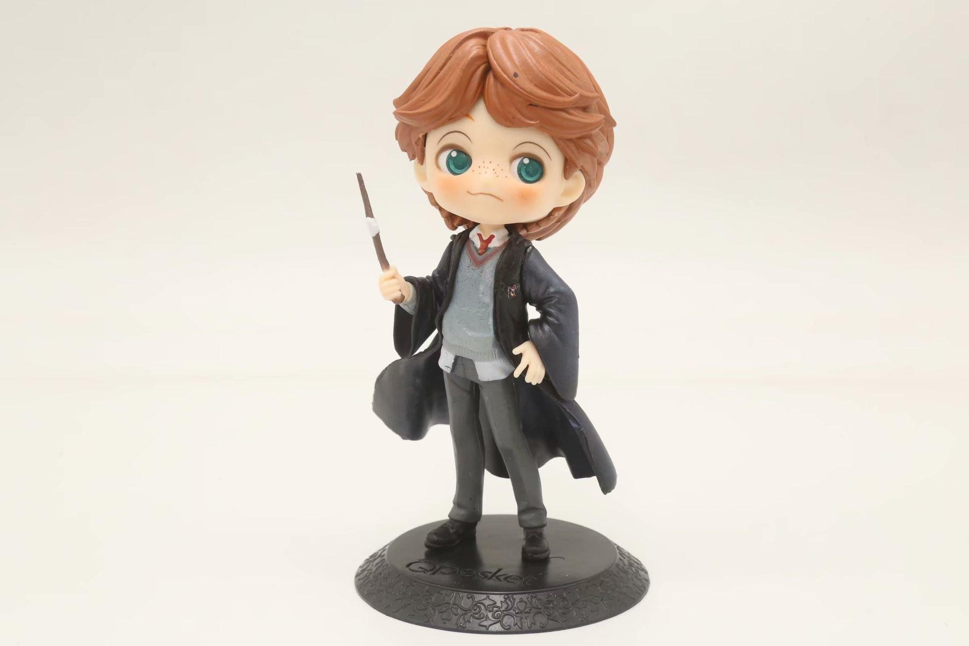 QPosket Cute Big eyes Ron Weasley in Movie Harry Potter Figure Model Toys 15cm