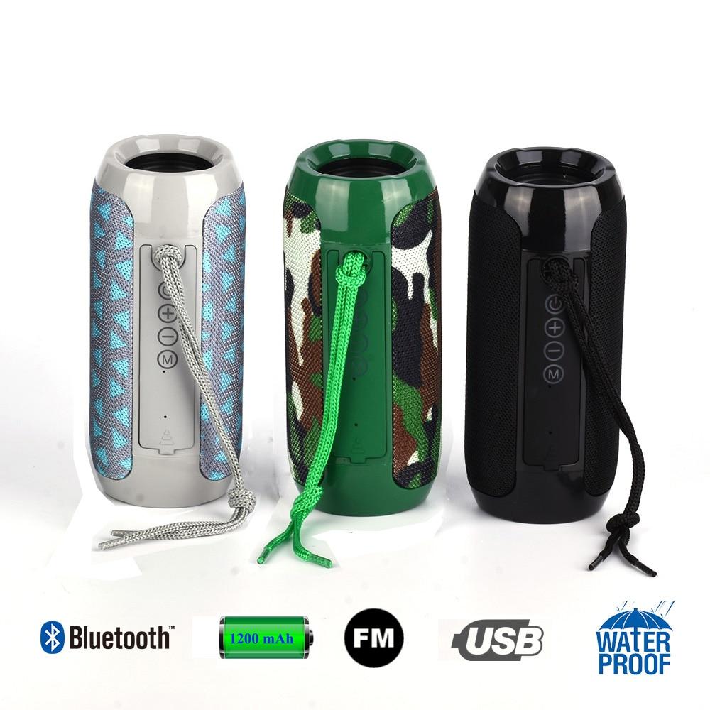 TG117 Bluetooth Computer Speakers Waterproof Portable Outdoor Speaker FM Radio Boombox AUX TF USB Player Sound Box Caixa De Som