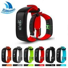 YH Smartband Часы Кровяное Давление Bluetooth Смарт Браслет Монитор Сердечного ритма Смарт Браслет Фитнес для Android IOS Телефон