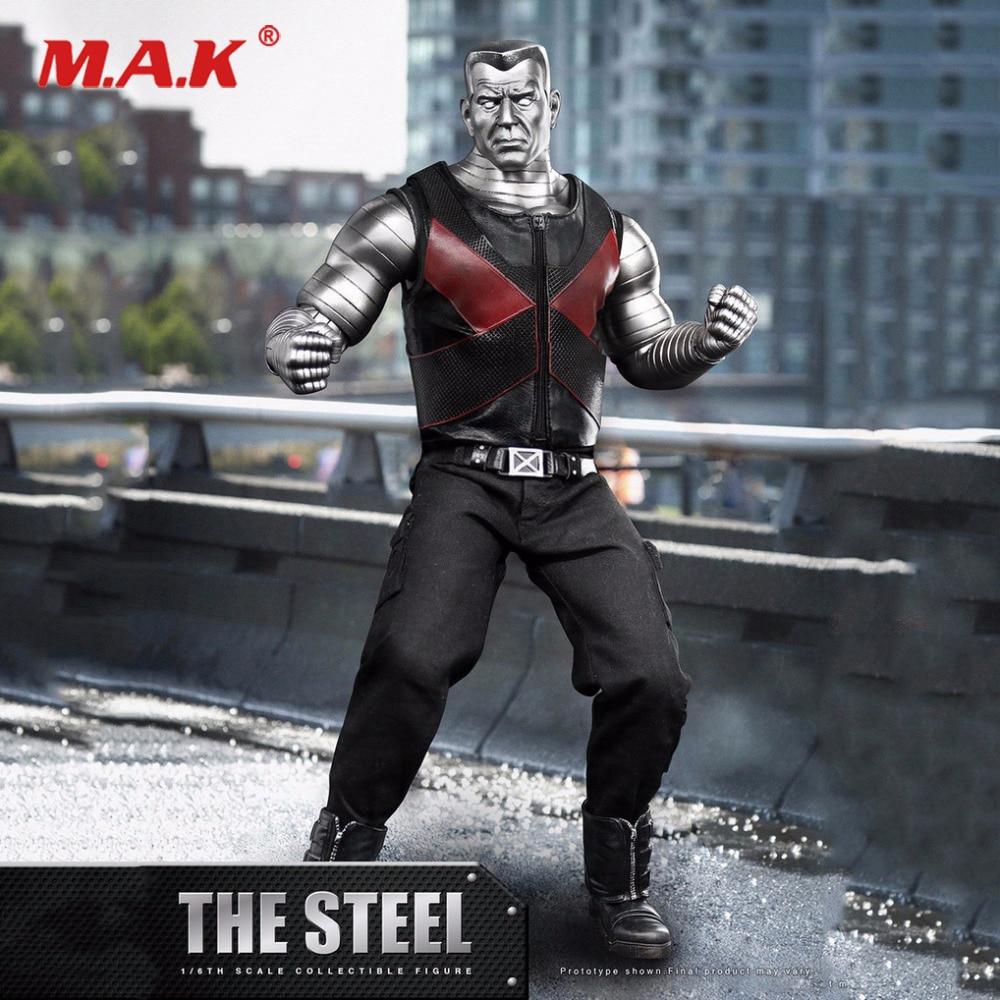1/6 X-man The Mutants Peter Rasputin Colossus Action Figure The Steel Deadpool Collectible Models kraftwerk kraftwerk the man machine remaster