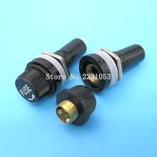 Tube-Socket Fuse-Holder 6X30 Insurance-Panel-Mount 6--30mm 5PCS