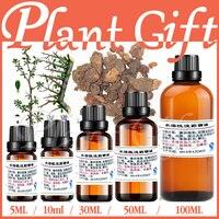 100% pure planta de água óleos essenciais solúveis de mirra óleo 5 ml aromaterapia banho de esterilização dedicado inibir a pele