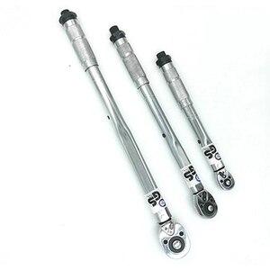1/4 3/8 1/2 гаечный ключ велосипедный крутящий момент Квадратный привод 5-210N.m двухсторонний предустановленный Регулируемый Высокоточный фикса...