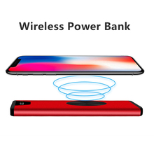 High Power 20000mAh QI Wireless Charger For iphone X 8 Plus Fast Charging Car Charger For