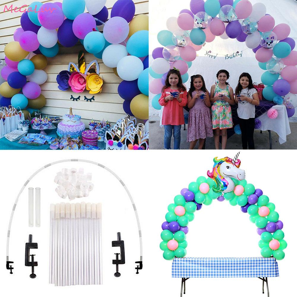 1.8m Balloons Arch Kit Adjustable For Different Table Sizes Wedding Christmas Decor Birthday Unicorn Mermaid Party Supplies