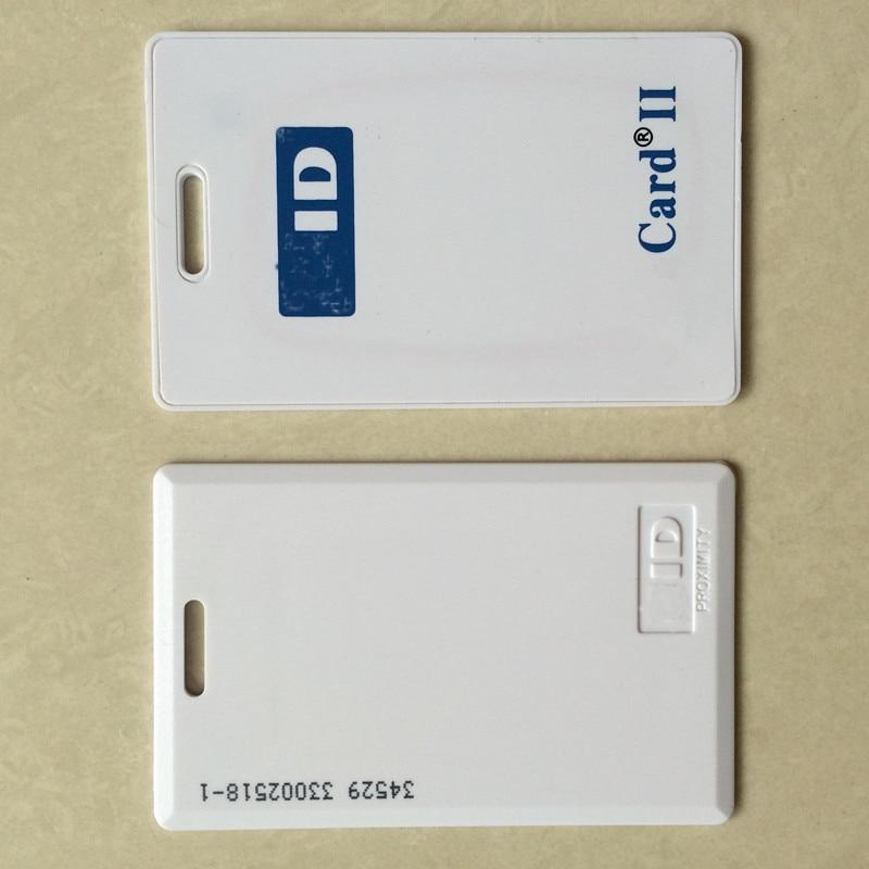 50 pcs lot Prox 125KHz Card II 1326 RFID Rewritable Proximity Thick Clamshell Writable Rewrite