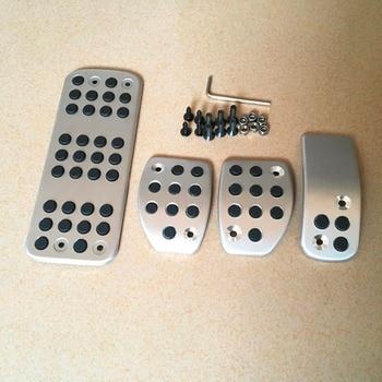 DEE Accessories Pedal Car Cover Gas Brake Clutch Footrest  Pedale for CITROEN C3 C4DS 3 4 5 6 DS3 DS4 DS5 DS6 AT Auto MT Manual peugeot 307 aksesuar