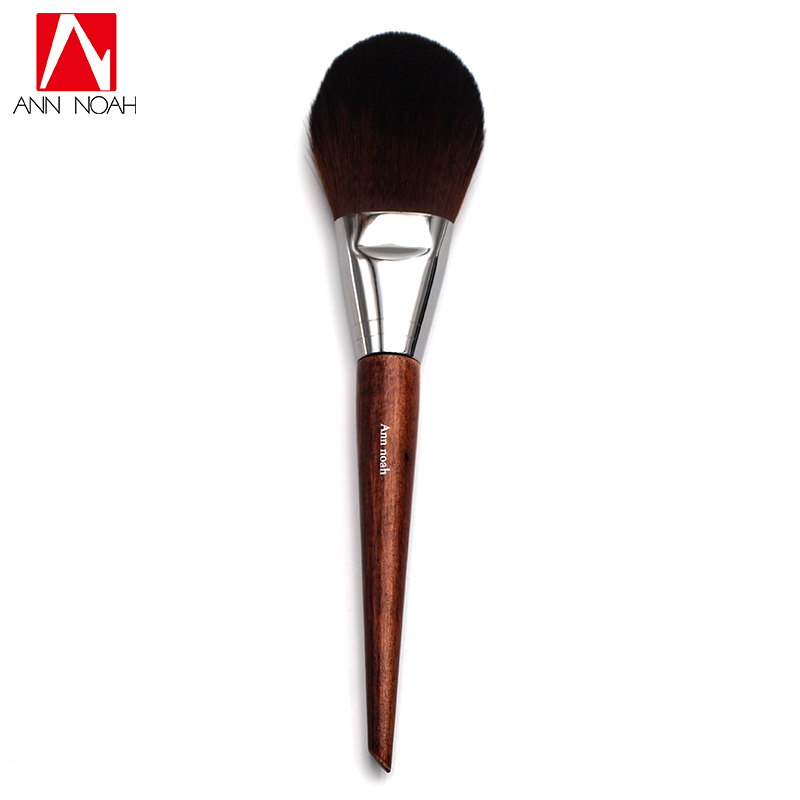 все цены на Professional Cosmetic Tool Long Wood Handle Soft Synthetic Hair Flat Tapered Tip 128 Flexibility Precision Makeup Powder Brushes в интернете