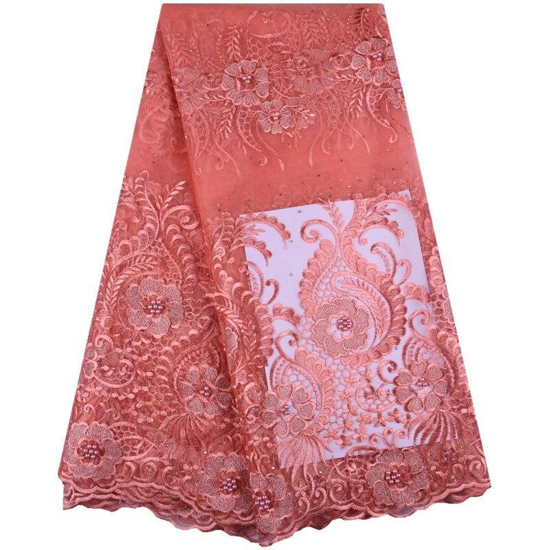 Nuevo tejido de encaje de tul francés bordado de encaje nupcial nigeriano tejido de encaje africano de alta calidad para fiesta de boda A1573-in encaje from Hogar y Mascotas on AliExpress - 11.11_Double 11_Singles' Day 1