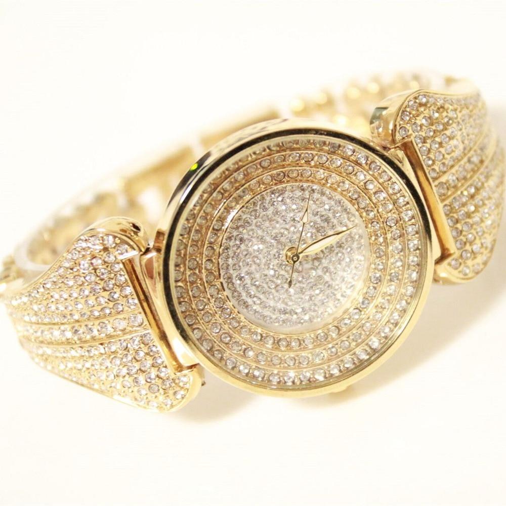 New Women Watches Brand Luxury Waterproof Clock Women Ladies Quartz Sports WristWatch Women Gold Watch Bracelet Relogio Feminino