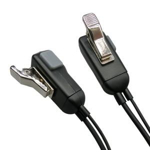 Image 5 - G Form Ohrbügel Mic Ohrhörer Walkie Talkie Headset Für Kenwood Für Baofeng Für Linton Für Wouxun Für Puxing 2 pin radio
