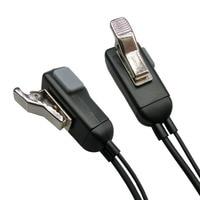מכשיר הקשר G צורה Earhook מיקרופון אפרכסת מכשיר הקשר Headset לקבלת Kenwood במשך Baofeng עבור לינטון עבור Wouxun עבור PUXING 2 פינים רדיו (5)