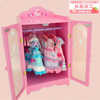 pet Clothing box, armoire /wardrobe/ garderobe/ clothespress for pet dog cat clothes display. with 5pcs Coat hanger