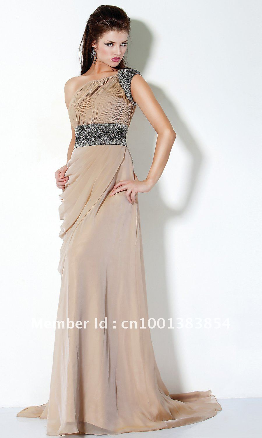 Fashion style Cocktail long dresses for lady