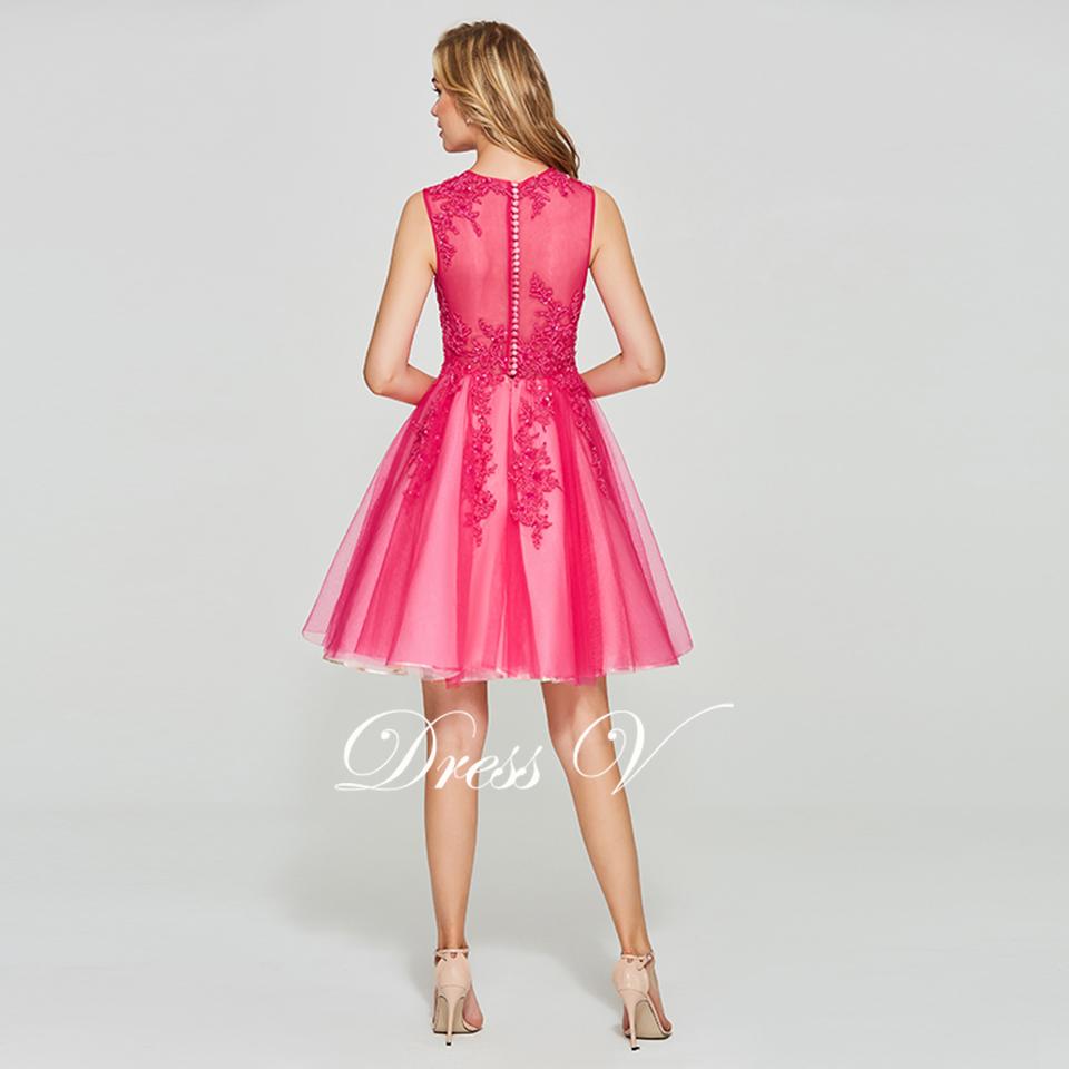 Dressv light pink elegant homecoming dress ball gown short sleeves zipper  up short mini beading homecoming graduation dressesUSD 95.60 piece 4261532df3e0