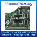 Original 256 mb placa gráfica para toshiba m300 m306 m331 m332 m336 m352 m308 m318 m335 placa de vídeo placa de vídeo testado