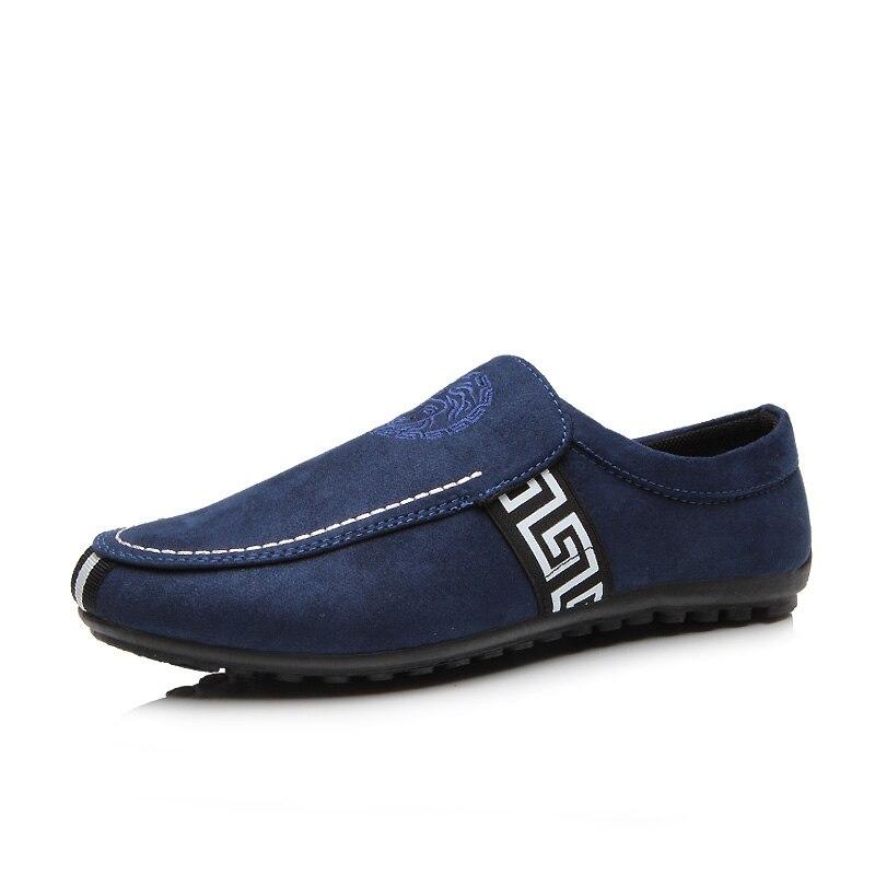 Hombres Zapatos Planos Primavera Verano Transpirable Slip-on Zapatos de Los Homb