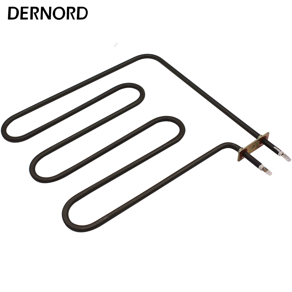 DERNORD 240V 1500W 3U Sauna Heater Element Electric heating element 1.5kw Tubular Heater for Air Heating electric sauna heater element tubular air heater heating element tubular heater 2670w