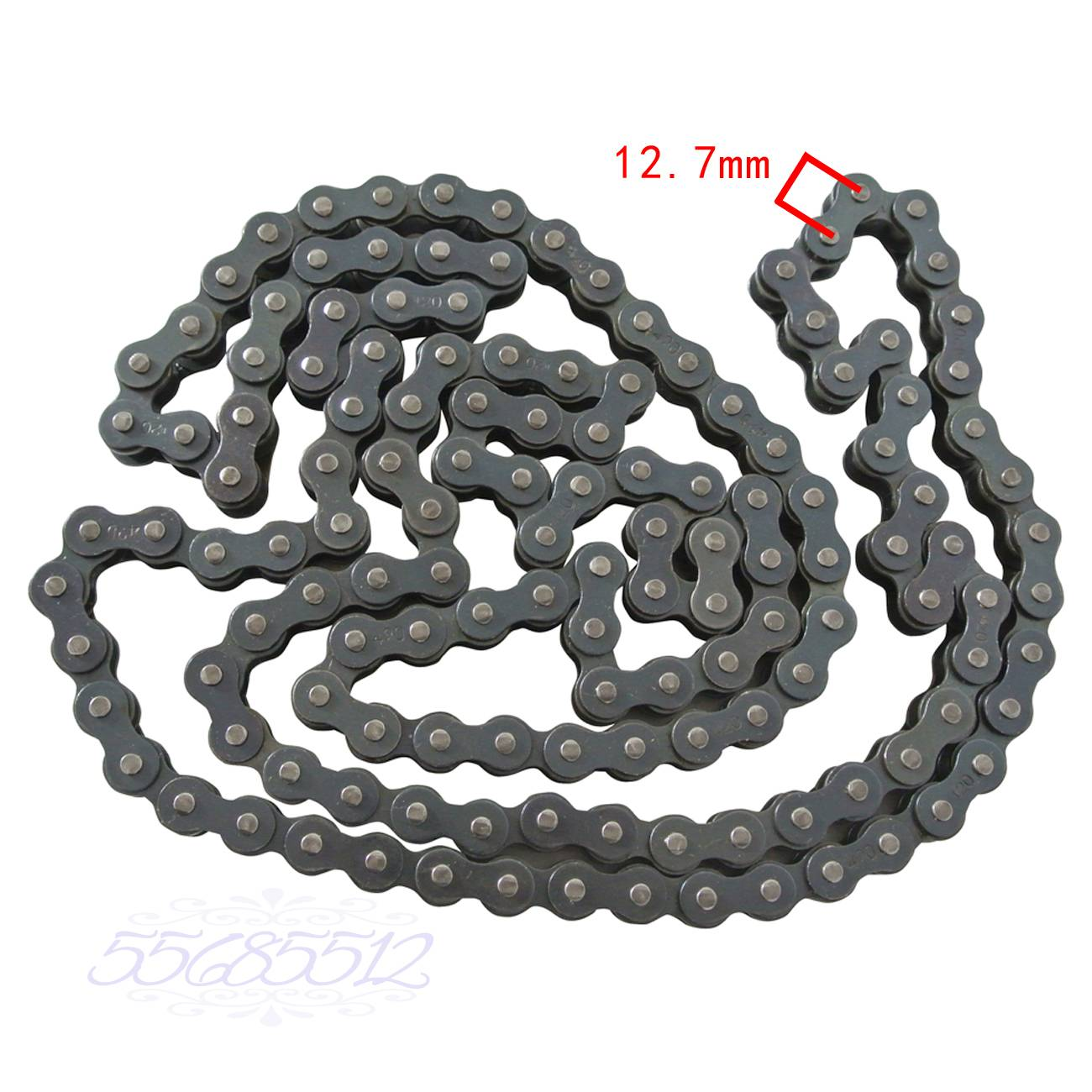 Motorcycle Chain 420-140L Fit ATV Quad Pit Dirt Bike With 1 Master Link
