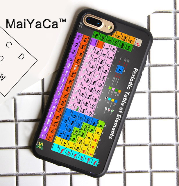 Maiyaca chemical chemistry college periodic tables soft tpu phone maiyaca chemical chemistry college periodic tables soft tpu phone case for apple iphone 8 plus cover urtaz Images