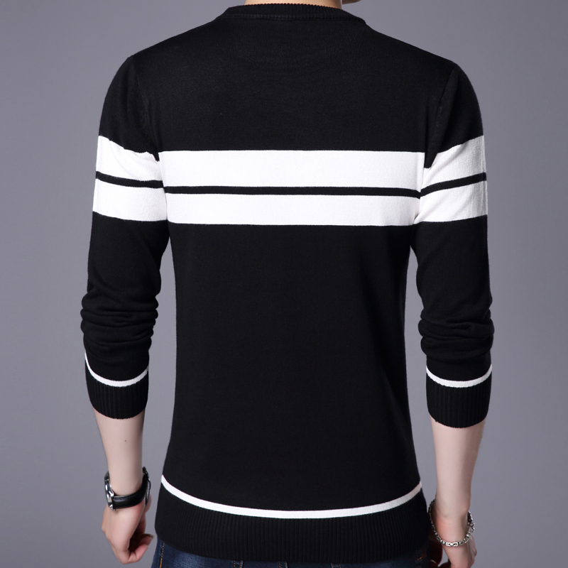 promo code 05877 5ded3 2019 designer pullover striped men sweater dress thin jersey knitted  sweaters mens wear slim fit knitwear fashion clothing 10041