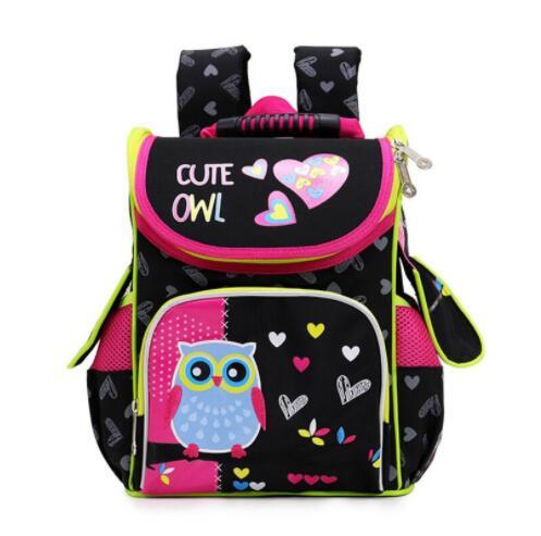 Kids Backpack For Children Girls Cartoon Cat Owl School Knapsack Boys Large Capacity Orthopedic School BagKids Backpack For Children Girls Cartoon Cat Owl School Knapsack Boys Large Capacity Orthopedic School Bag