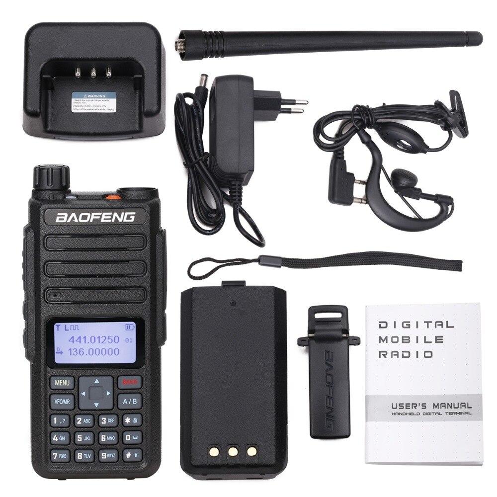 Image 5 - 2020 Baofeng DM 860 Digital Walkie Talkie DMR Tier1 Tier2 Tier II  Dual time slot Digital  Radio Compatible With Motorola DM 1801Walkie  Talkie