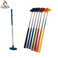 FUNGREEN Colorful Kids Rubber Head Putter Clubs Children Double Side Mini Putter Golf Equipment Fitness Golf Toys with 1pc/Pack