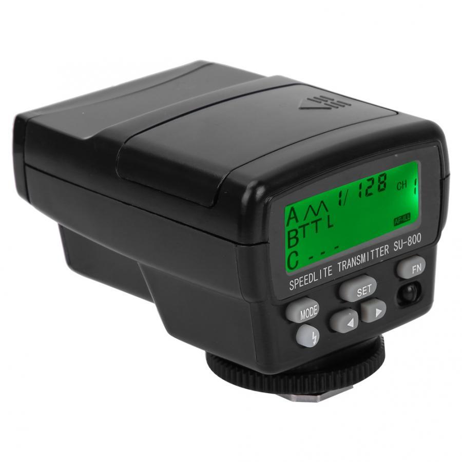 SU800 Wireless TTL Speedlight Commander Flash Light Trigger Transmitter for Nikon SB910 SB800