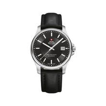 Наручные часы Swiss Military SM30200.10 мужские кварцевые на кожаном ремешке
